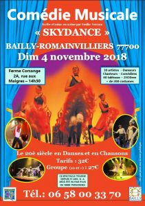 comedie musicale bailly romainvilliers