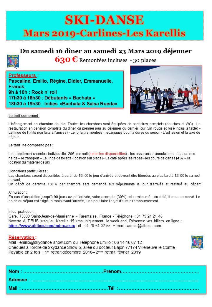 Stages danse et vacances - Skydance-Show, école de danse de couple 71d027149b31
